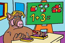 Alf and math
