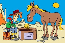 Jack and horse