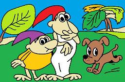 Kremilek, Vochomourka and puppy