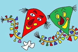 Happy kites