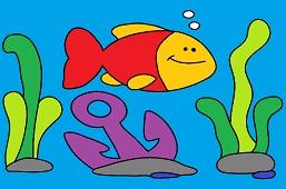 Fish and anchor