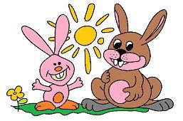 Bunnies and sun