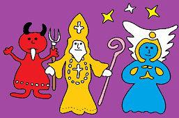 Devil, Angel and St. Nicholas