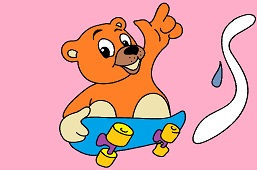Skateboarder Teddy Bear
