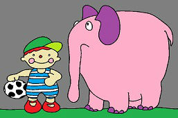 Johnny and lost elephant