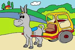 Donkey messenger