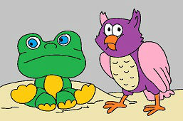 Frog and Owl