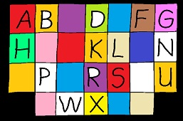 Add the letters