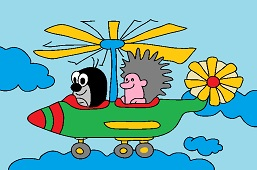 The Mole and helicopter