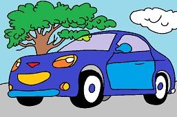 Sports car 5.