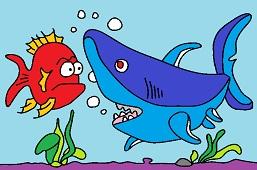 Encounter with shark