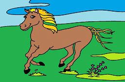 Brown Mustang