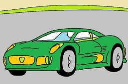 Sports car 6.
