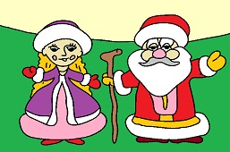 Father Frost and Nastenka