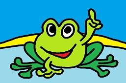 Hi, I'm a frog!