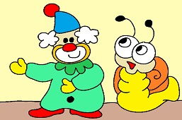 Clown and Snail