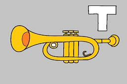 T as a trumpet