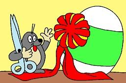 Mole and egg