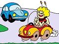 Maya the Bee and car