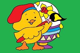 Duckling painter