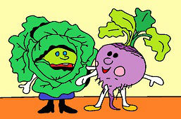 Beet and Cabbage