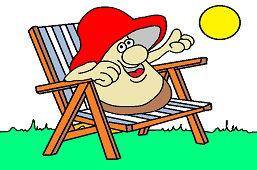 Mushroom on vacation