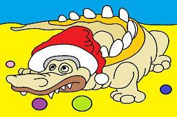 Crocodile and Christmas