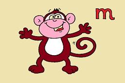 M like monkey