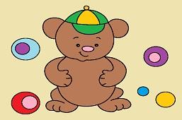 Teddy bear in cap