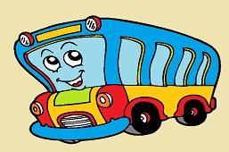 Smiling bus