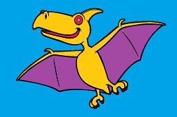 Dinosaur Pterosaurus