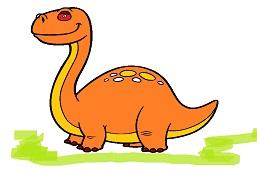 Dinosaur Brontosaurus