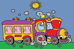 Fairytale train