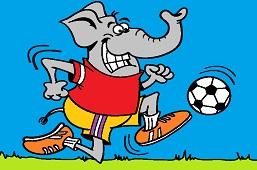 Elephant – footballer