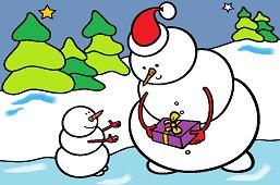 Present for snowman
