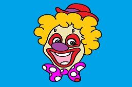 Clown Rudolph