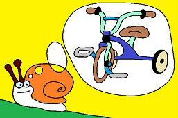 Snail has a dream
