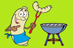 Grill sausage