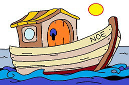 Noah's Ark on the Sea