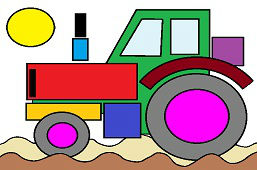 Agro tractor