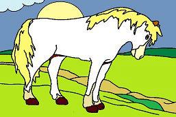 Sun horse