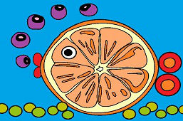 Fruit fish