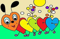 Heart Caterpillar
