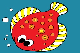 Turbot fish
