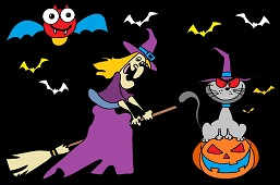 Deep Halloween night