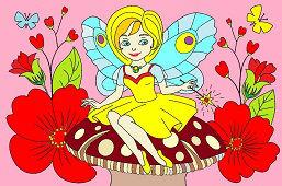 Fairy tale Fairy