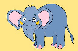 Smiling Elephant