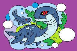 Dinosaur Plesiosaurus