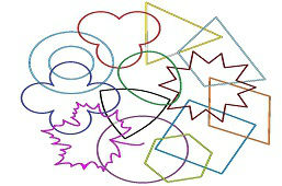 Mix of Geometric shapes