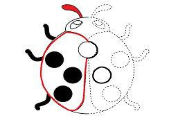 Dot to dot: Ladybug